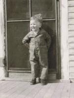 Dad at two years old